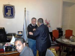 وزير التربية والتعليم يستقبل الحسينى محمد _ الخوجة  087