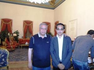 وزير التربية والتعليم يستقبل الحسينى محمد _ الخوجة  112