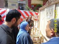 سعيد حمزة فى معرض التعليم الفنى بقويسنا2016