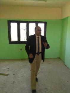فايز شندى , مدير عام ادارة بركة السبع التعليمية